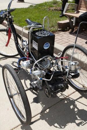 MSOE Fluid Power Bicycle
